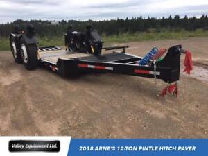 2018 Arne's 12-Ton Pintle Hitch Paver