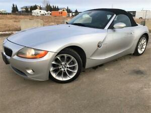 2004 BMW Z4 CONVERTIBLE **5-SPEED MANUAL** FULLY INSPECTED