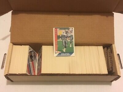 RARE COMPLETE SET- 1991 PACIFIC FOOTBALL (SERIES 1- 550 CARDS) - MANY (1991 Series)