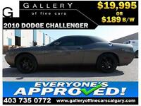 2010 Dodge Challenger SE $189 bi-weekly APPLY NOW DRIVE NOW