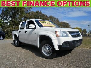 2011 Holden Colorado RC MY11 LX Crew Cab White 4 Speed Automatic Utility Underwood Logan Area Preview