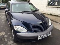 2001 Chrysler Pt Cruiser, starts and drives well, MOT until April 2017, 79,000 miles, leather interi