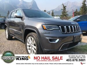 2017 Jeep Grand Cherokee LIMITED VENTED LEATHER PANORAMIC SUNROO