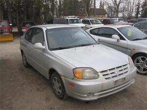 2005 Hyundai Accent GS|AS TRADED|ONLY 129 KM