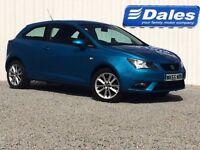 Seat Ibiza 1.4 Toca 3Dr Hatchback (alor blue) 2015