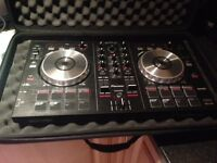 Pioneer ddj sb performance controller with padded carry bag & dust cover