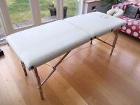 Tahiti Opal Portable Massage Table (Cream)