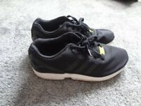 Adidas Black ZX Flux Size 7 UK Trainers