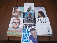 BOOKS FOR SALE - AUTOBIOGRAPHY'S FOR SALE - OPEN TO OFFERS !!!!!