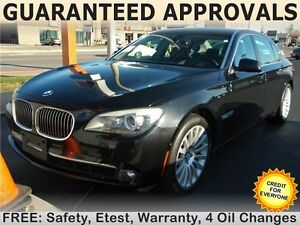 2010 BMW 750Li xDrive (4.8L V8 DOHC 32V) Sedan, SUNROOF, LEATHER