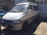 Toyota Granvia Camper Van, 5 seats, professional conversion with leather interior *Reduced price*