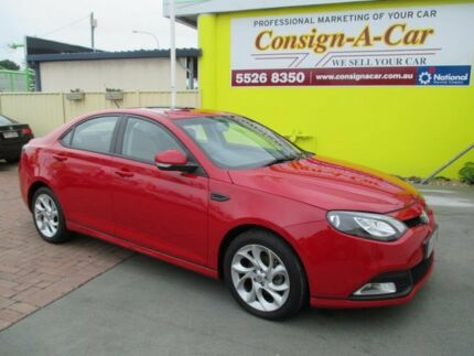 2013 MG MG6 IP2X Magnette SE Red 5 Speed Manual Sedan