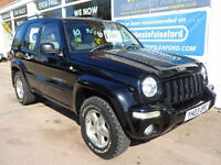 Jeep Cherokee 2.8 CRD auto Limited 4x4 low miles 93k p/x swap