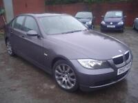 2007 BMW 318 2.0TD d SE+F.S.H with 9 stamps+excellent+6 speed