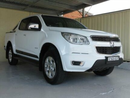 2014 Holden Colorado RG MY14 LTZ (4x2) White 6 Speed Automatic Crewcab Condell Park Bankstown Area Preview