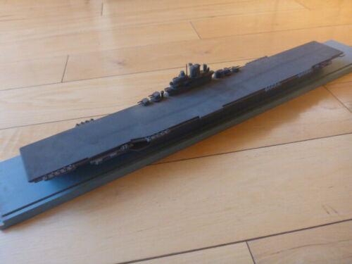 USS ESSEX SOUTH SALEM STUDIOS WWII Recognition Ship Model 1:500 SCALE CARIIER