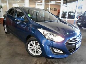 2015 Hyundai i30 GD MY14 SE Blue 6 Speed Automatic Hatchback St James Victoria Park Area Preview