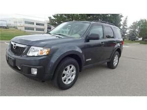 2008 MAZDA TRIBUTE GT TOURING  V6-AWD-LEATHER/SUN ROOF
