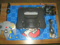 Nintendo 64 System With 2 Games/Cleaned/Tested/Old Skool Gamers~