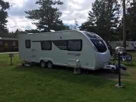 Sterling Eccles 636 Sport 6 berth 2013 twin axle caravan in Immaculate Condition