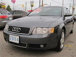 2004 Audi A4 1.8T Quattro AWD | Leather | Sunroof |