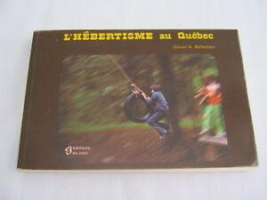 Livre sur l'hébertisme au Québec