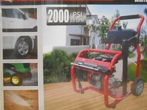 NEW POWER+ GAS PRESSURE WASHER 2000PSI - SEE PHOTOS FOR PRODUCT SPECIFICATIONS 105478978