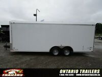 2016 STEALTH LIBERTY 8.5 X 20 FT DOUBLE REAR DOORS / WHITE