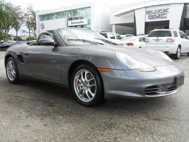 S manual low miles used porsche boxster for for Planet motors in west palm beach