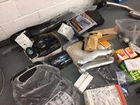 Job Lot of new and used car parts (including CV boots, Car Mats, Exhausts, Cats, S8 Parts, + More)
