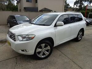2007 Toyota Kluger GSU40R KX-S (FWD) Pearl White 5 Speed Automatic Wagon Sylvania Sutherland Area Preview