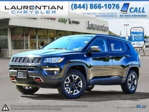 2017 Jeep Compass Trailhawk-TRAIL RATED!! LEATHER!! NAV!!!