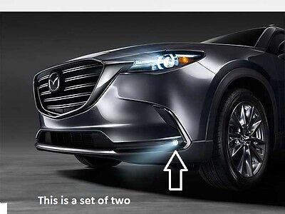 2016-2019 Mazda CX-9 LED Fog Lamp Kit with switch w/o Auto Headlights TK78V4600