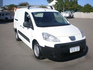 2012 Peugeot Partner B9P 1.6 HDI White 5 Speed Manual Van Victoria Park Victoria Park Area Preview
