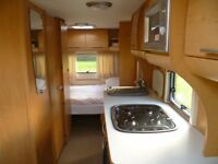 Bailey Touring Caravan- Pageant Series 6.