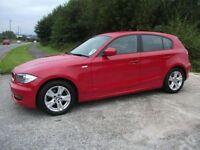 BMW 1 SERIES 2.0 116D SE 5d 114 BHP (red) 2010