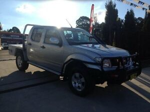 2007 Nissan Navara D40 ST-X (4x4) Silver 6 Speed Manual Dual Cab Pick-up St Marys Penrith Area Preview