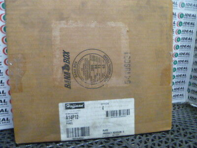 Hoffman A14p12 Panel Enclosure New In Box