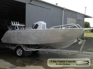 4.8m aluminium plate boat centre console bare hull only Carrum Downs Frankston Area Preview