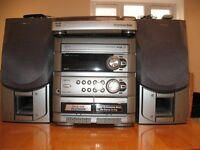 Aiwa stereo music system