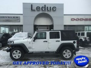 2014 Jeep Wrangler Unlimited Sport with Hard and Soft Top