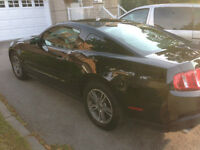 Leaving the country, 2012 Ford Mustang Coupe Premium Package
