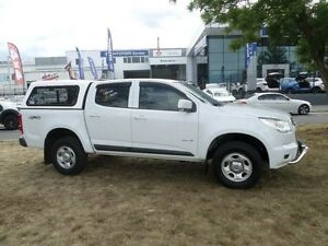 2013 Holden Colorado RG LX (4x4) White 6 Speed Automatic Crew Cab P/Up Belconnen Belconnen Area Preview