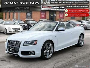 2011 Audi S5 Premium Convertible! 2 Year Warranty!