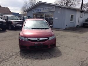2009 Honda Civic Sdn DX-G Fully Certified! Carproof verified!