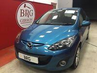 Mazda 2 MANUAL SPORT D (blue) 2011