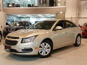 2015 Chevrolet Cruze LT-AUTOMATIC-REAR CAM-ONLY 8KM