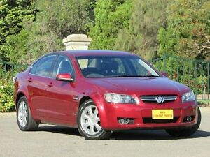 2009 Holden Berlina VE MY09.5 Red 4 Speed Automatic Sedan Blair Athol Port Adelaide Area Preview