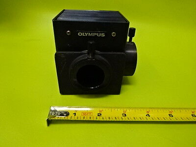For Parts Microscope Part Olympus Japan Lamp Housing Empty As Is Td-3