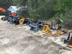 Excavator Attachments For Sale